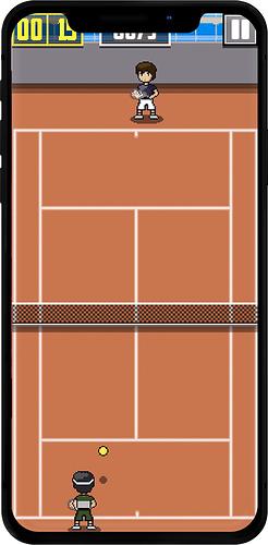 tennis-iphonex