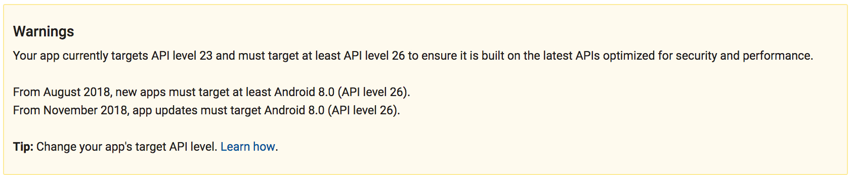 Android API level (DEF-3284) (SOLVED) - Questions - Defold game