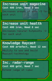 research menu with raycast