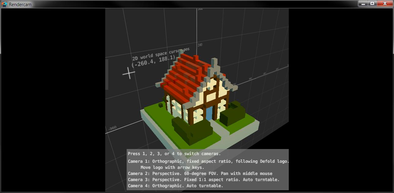 Rendercam - Universal Camera Library - The Defoldmine - Defold game