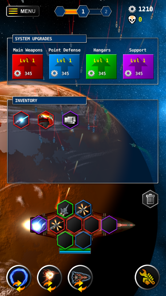 Enter the Infinite - Idle game with Spaceships! - Dev diaries