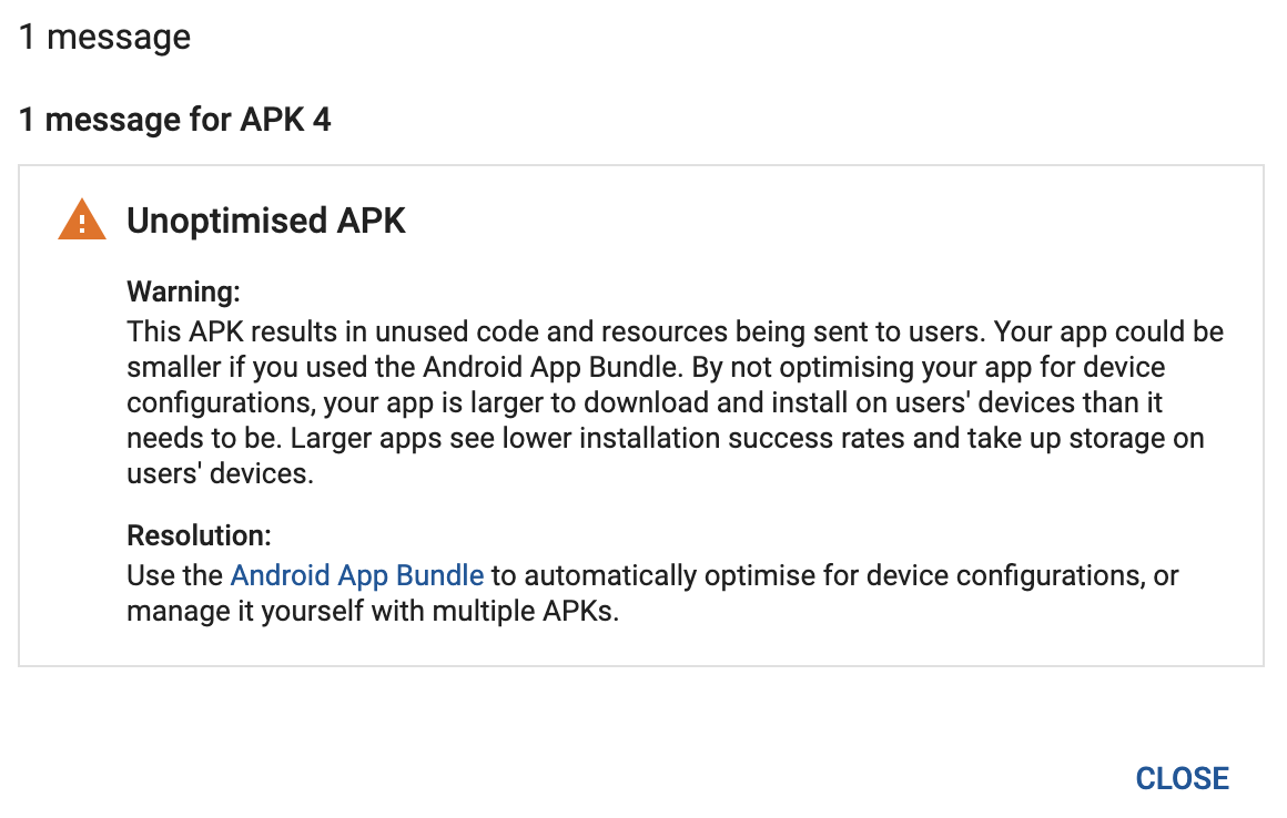Build Android Release with Android App Bundles (Issue-3381